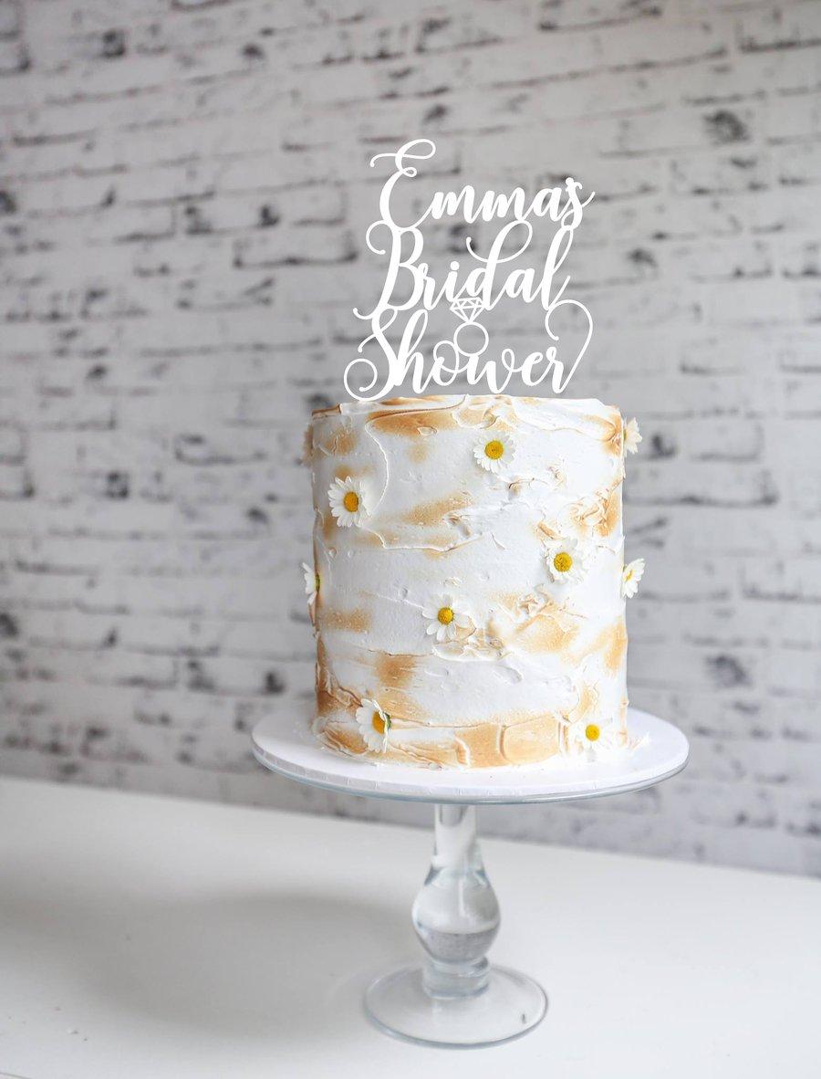 Image of Custom Bridal Shower Script