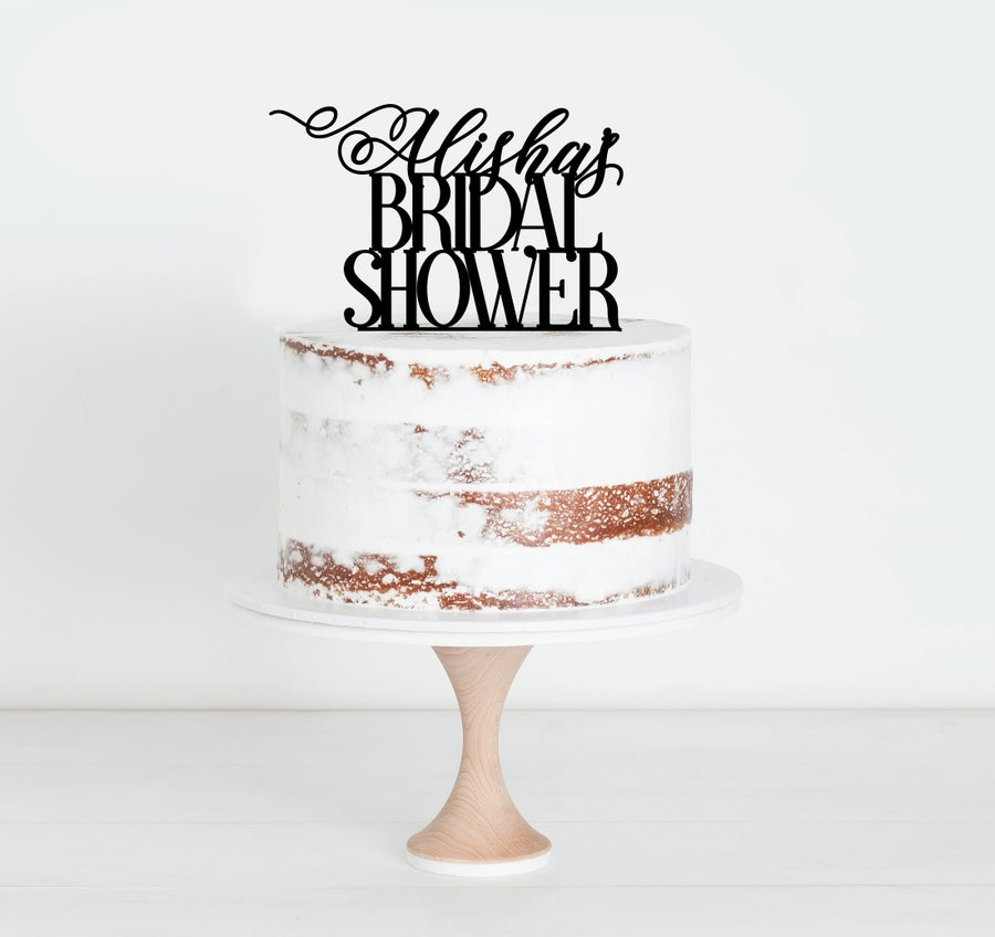 Image of Custom Bridal Shower Swash