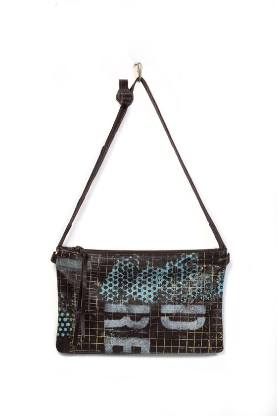 Image of Chelsea Crossbody - hand printed & painted