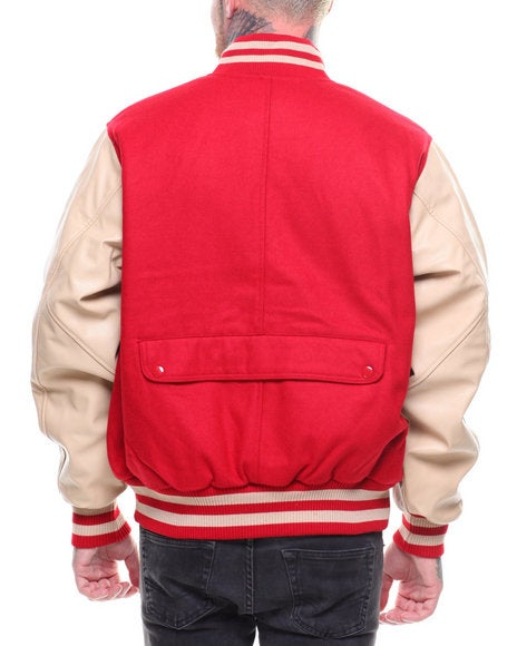 Image of VARSITY PATCH JACKET