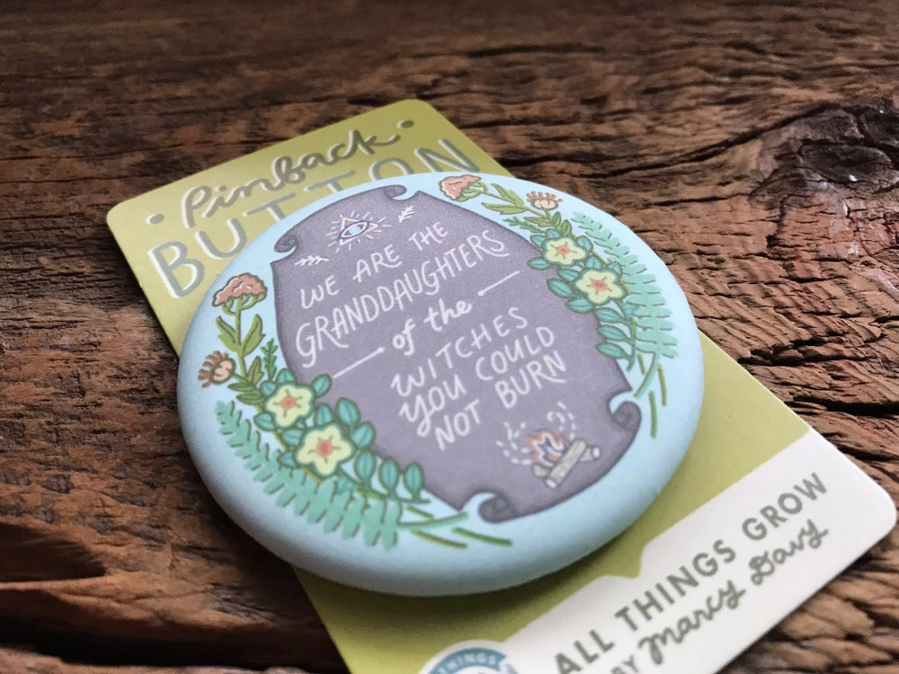 Image of Granddaughters of Witches - Pinback Button