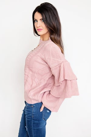 Image of Bell Sleeve Sweater