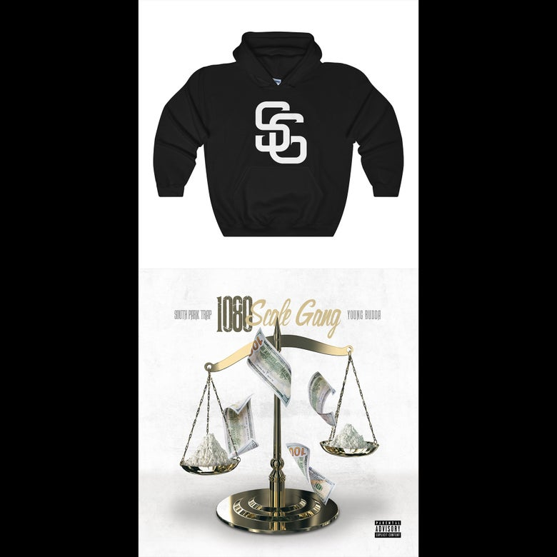 Image of Scale Gang Pullover Hoody & Signed Scale Gang 1080 Album (CD or Digital Copy) Bundle
