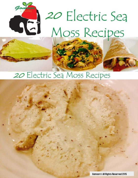 Image of 20 Electric Sea Moss Recipes E-Book
