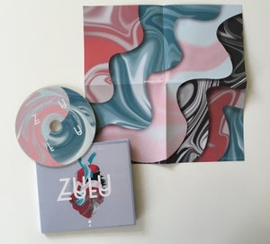 Image of ZULU - Analogue Heart / Digital Brain CD-LP