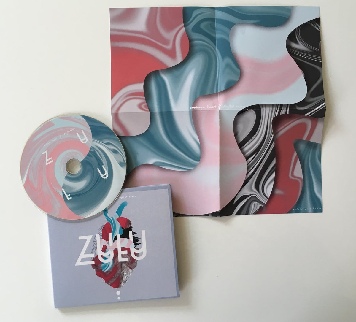 ZULU - Analogue Heart / Digital Brain - LP CD