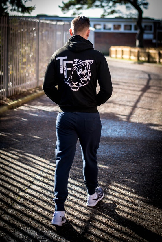 Image of Tiger Fitness Black Zoodie