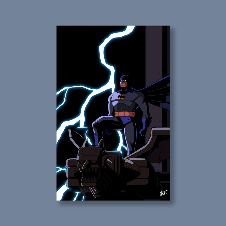 "Image of ""I Am The Night,"" 11""x17"" Signed Print [ONLINE EXCLUSIVE]"
