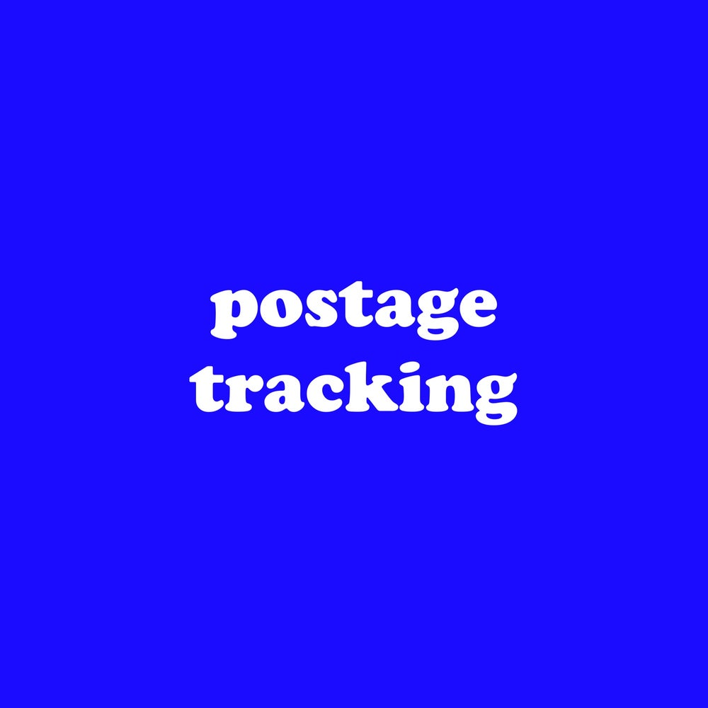 Image of POSTAGE TRACKING