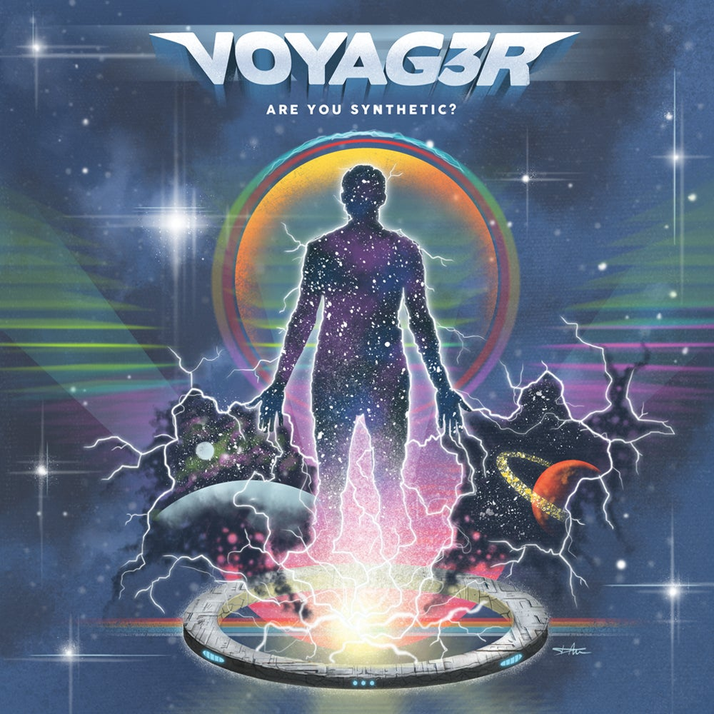 Image of Voyag3r - Are You Synthetic? - 2xLP + STANDARD EDITION + Download Code