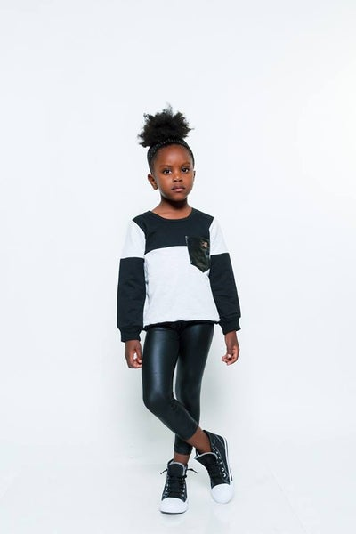 Image of Color Block Sweatshirt