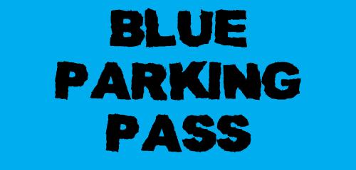 Image of BLUE EVENT CAR PASS