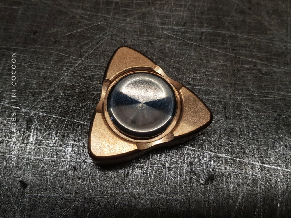 Image of Pose Blades - Tri Cocoon  - BRONZE