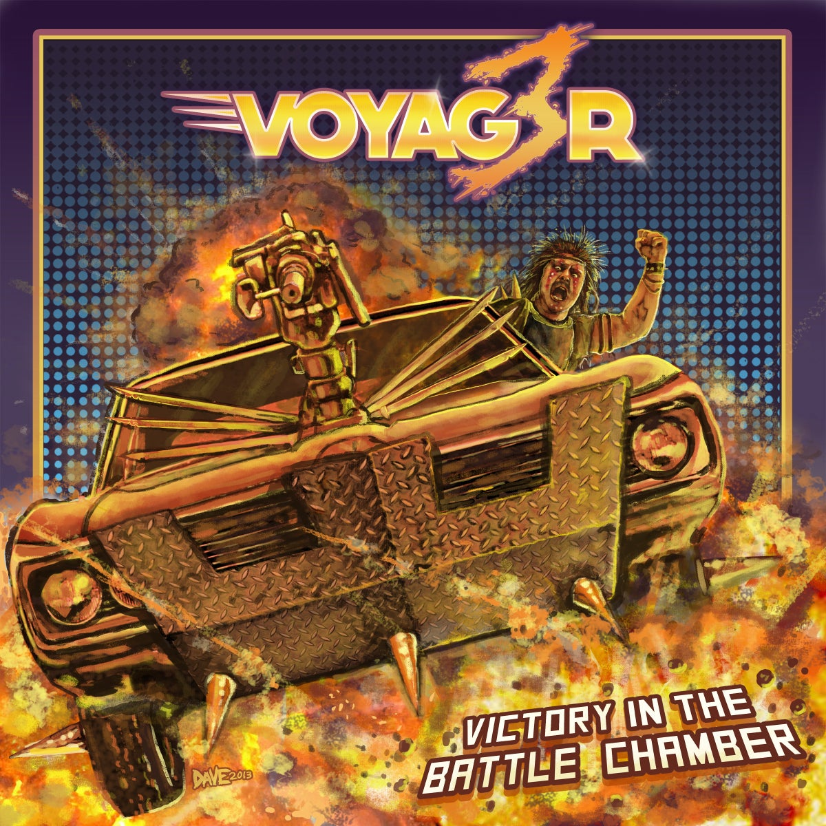 Image of Voyag3r - Victory In The Battle Chamber - 7 Inch Single + Download Code