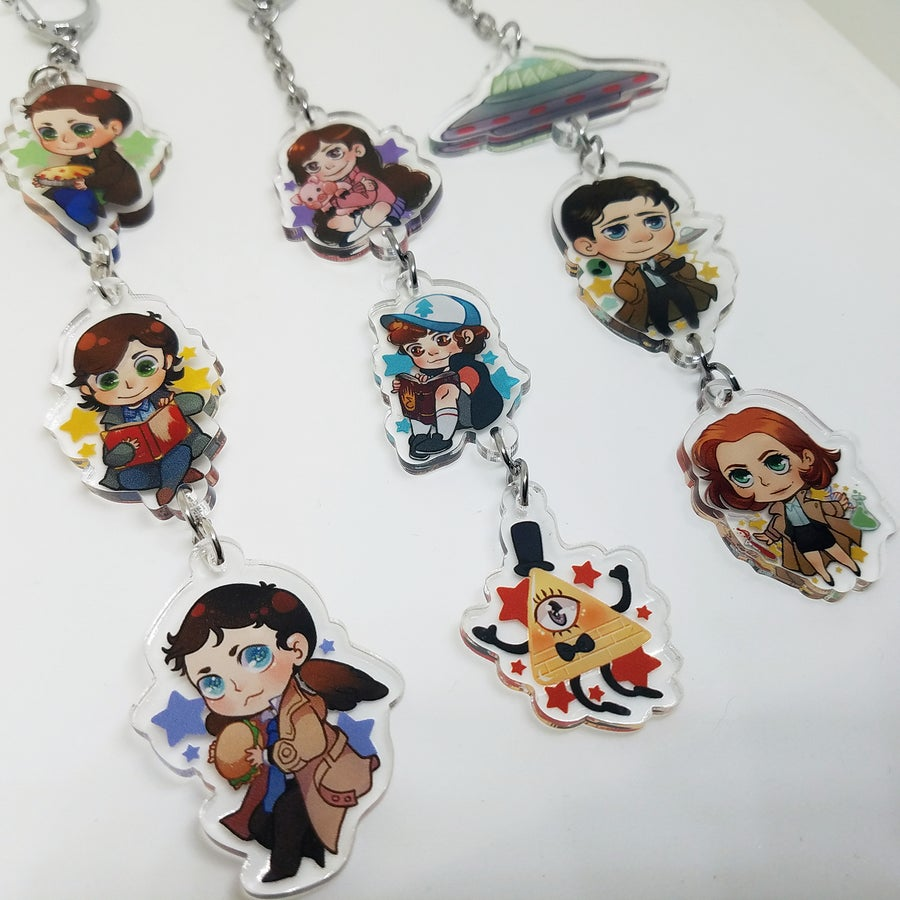 Image of Joined Keychains