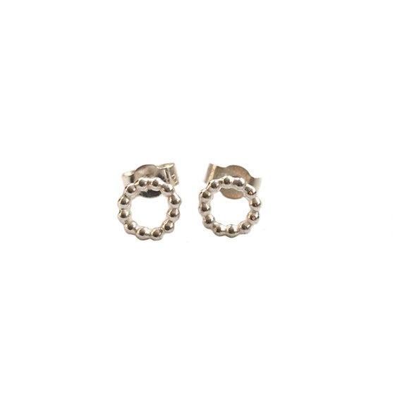 Image of Silver circle studs