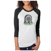 Image of Hope There's Tacos - Raglan Tee