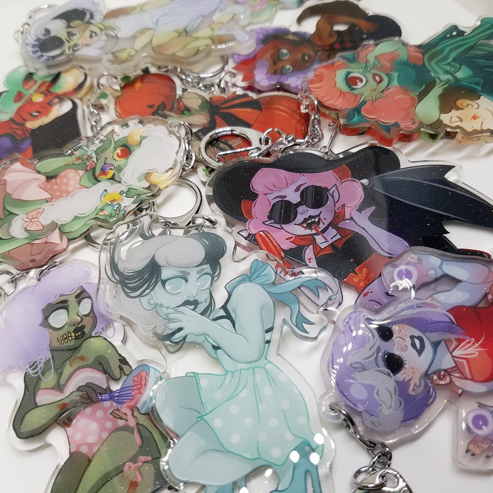 Image of Monster Girl Charms [LAST CHANCE!]
