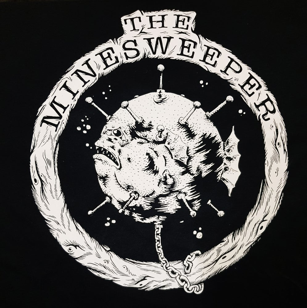 Image of MINESWEEPER LOGO TEE (FRONT)