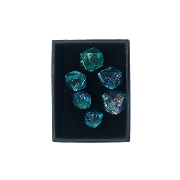 Image of Fluorite octahedron box