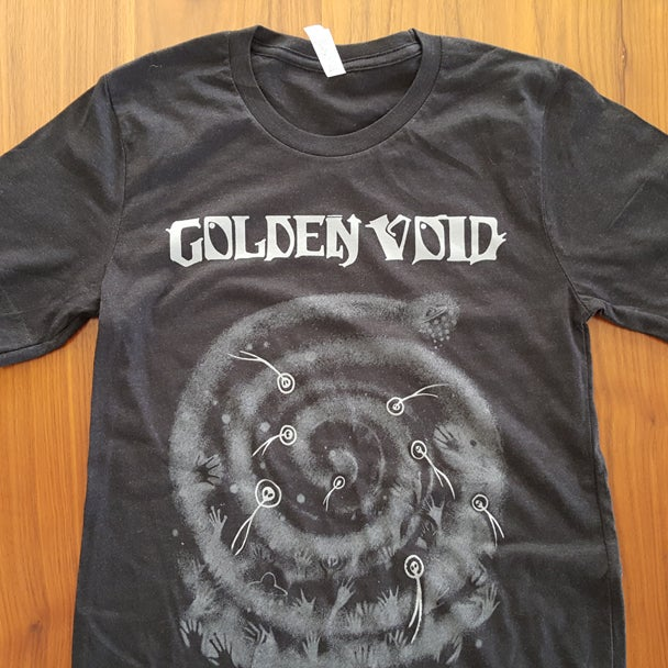 Image of Golden Void Alien T-Shirt