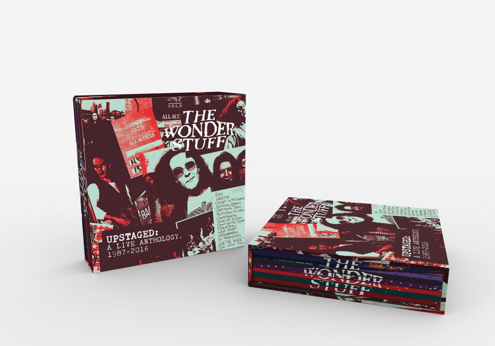 Image of UPSTAGED: A Live Anthology. 1987-2016 - Pre-Order