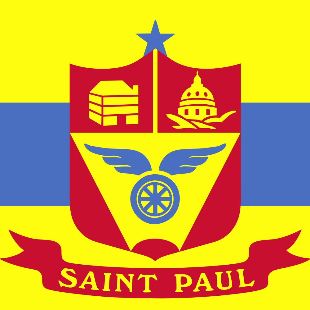 Image of Saint Paul Flag (3' x 5' deluxe flag)