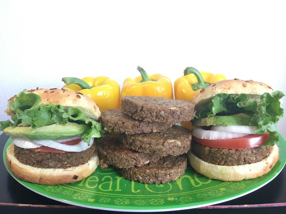 Image of Grandpa Dave's Vegan Burgers