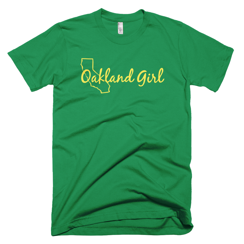 "Image of Kelly Green ""Oakland A's"" Tee"
