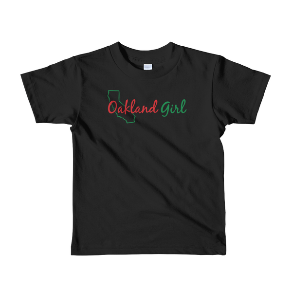 Image of Kids Black History Month Oakland Girl Tee