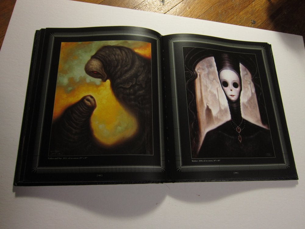 Black Magick Book With Hand Painted Cover- Pre Order