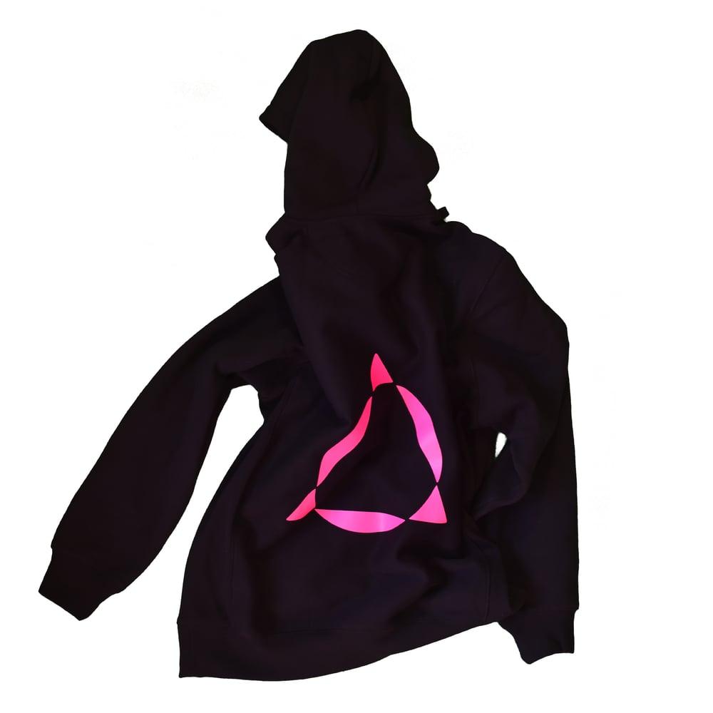 Image of pink box hoodie