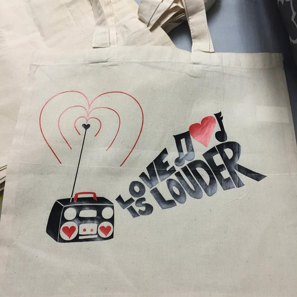 Image of Love is Louder Tote