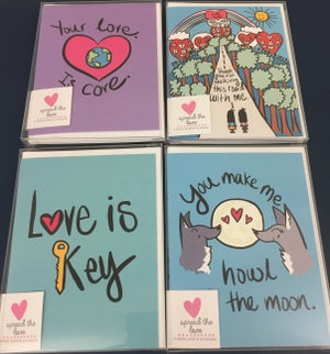 Image of LOVE Greeting Cards - 4 Pack