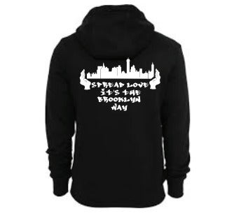 Image of Spread Love It's the Brooklyn Way Hoodie