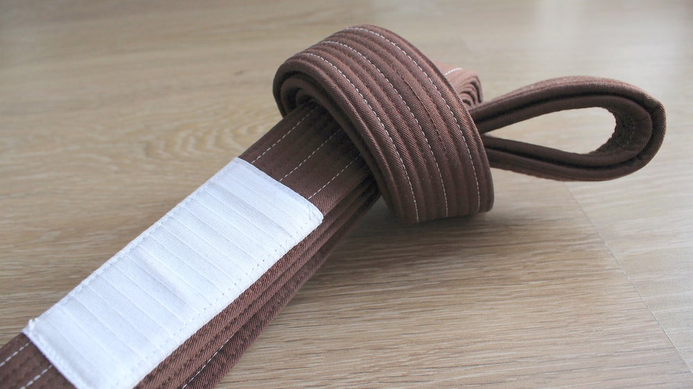 Image of PURE ピュア Brown belt