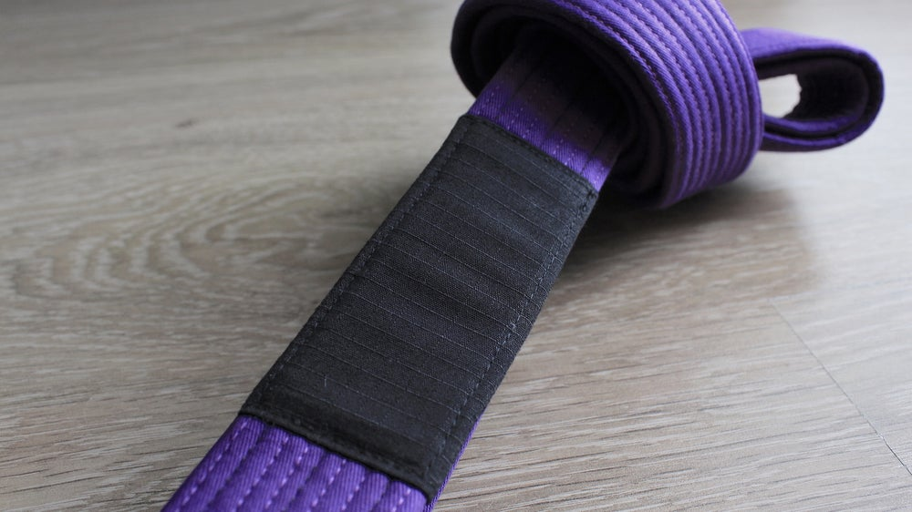 Image of BLACK SAINT 聖暗黒 Purple Belt