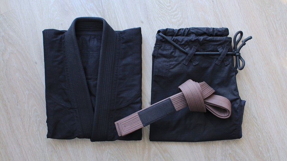 Image of BLACK SAINT 聖暗黒 Brown Belt