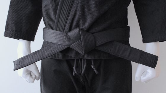 Image of BLACK SAINT 聖暗黒 Black Belt