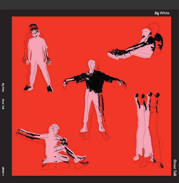 "Image of Big White ""Street Talk"" LP"