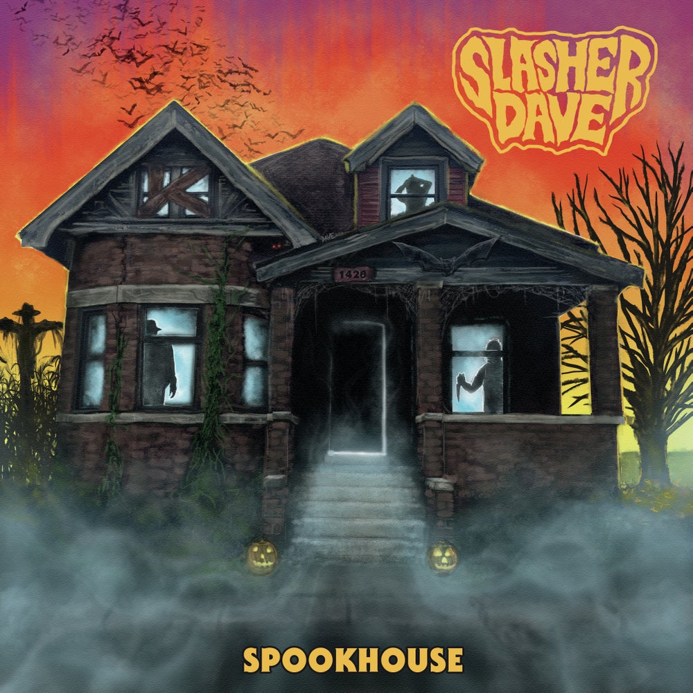 Image of Slasher Dave's Spookhouse - LP + Download Code