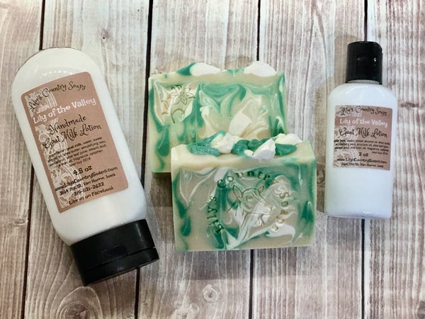 Image of Lily of the Valley Goat Milk Lotion