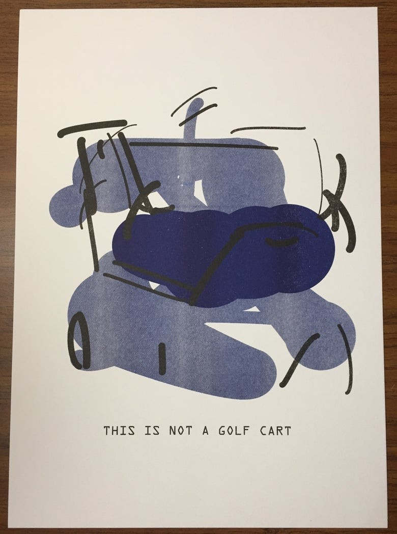 Image of The Treachery of ImageNet: Golf Cart