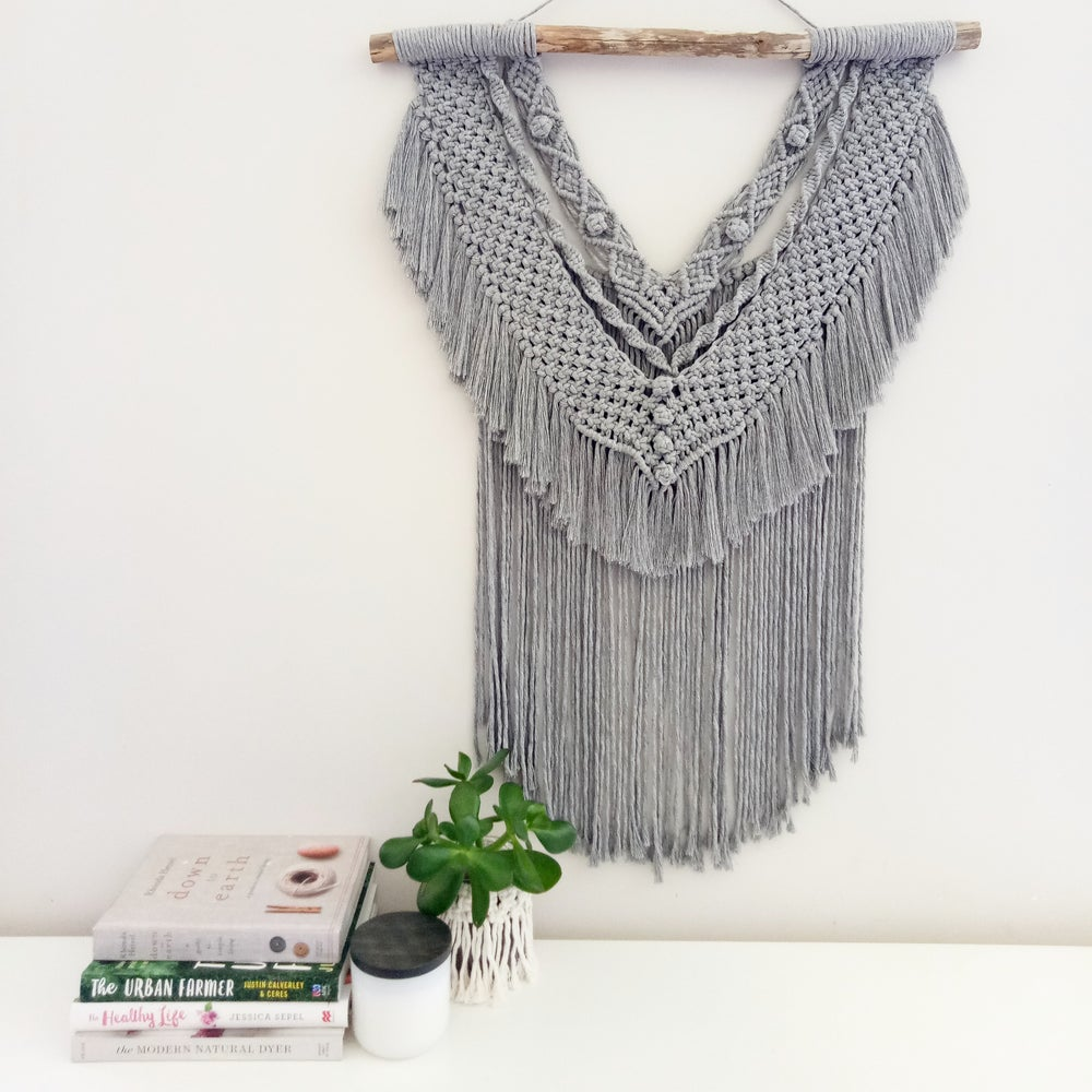 "Image of ""Jane"" Macrame Wall Hanging"