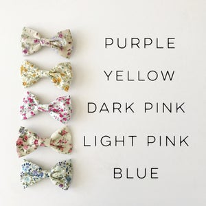 Image of Floral Classic Hair Bow