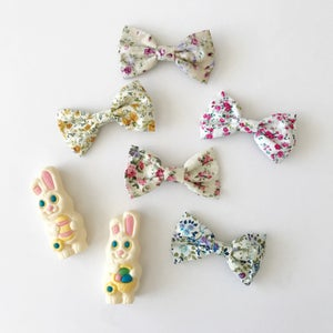Image of Boys' Floral Clip On Bow Ties