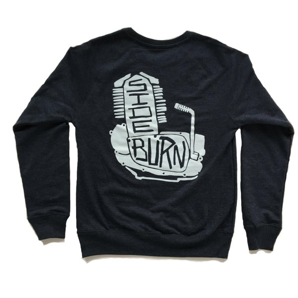 Image of Engine Crewneck Sweat Shirt - Dark Grey