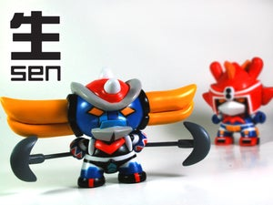 Image of Grendizer Dunny Custom