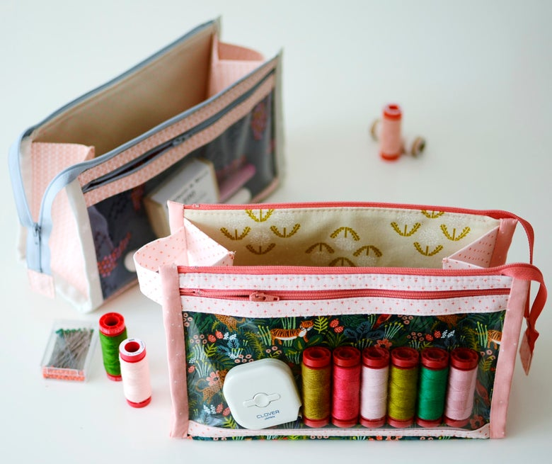 Image of Inside Outside Pouch PAPER pattern