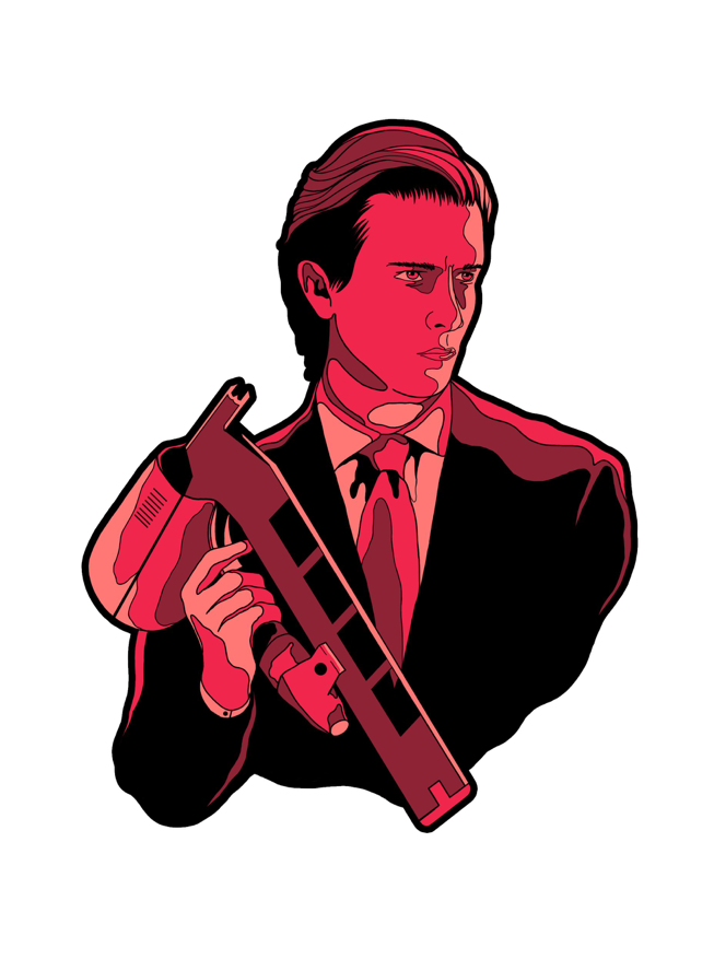 Image of Patrick Bateman by Joshua Kelly